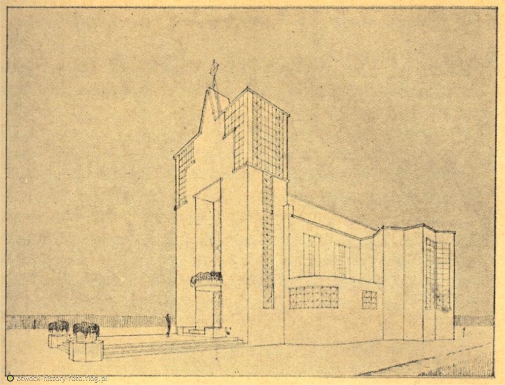 Projekt nowego kościoła pw. Świętego Wincentego a'Paulo