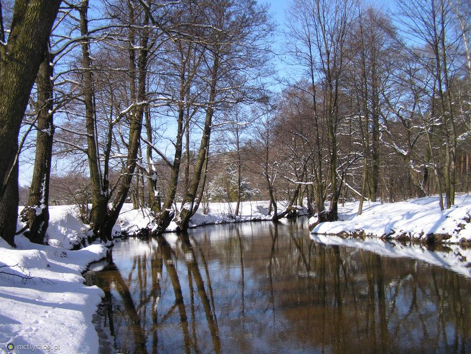 Rzeka Grabia - na zimowo i letnio :)