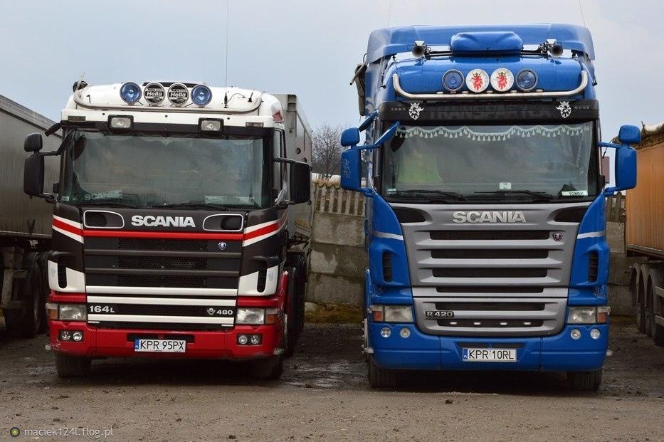 """Scania R420 & V480 """"KUBIK''"""