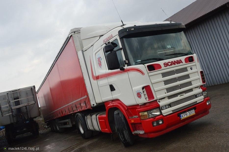 "Scania 420 ""KUBIK''"