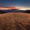 Armagedon :: Zachód słońca z góry Plis<br />z nieopodal Wołkowyji.