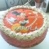 Tort dla Karoli,córeczki <br />mojej przyjaciółki.